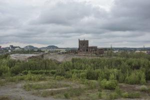 Post industrial wastelands